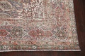 Antique Distressed Floral Tabriz Persian Area Rug 10x13 image 5