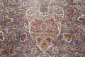Antique Distressed Floral Tabriz Persian Area Rug 10x13 image 10