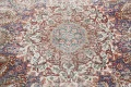 Antique Distressed Floral Tabriz Persian Area Rug 10x13 image 11