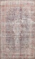 Antique Distressed Floral Tabriz Persian Area Rug 10x13 image 1