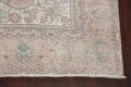 Antique Muted Distressed Tabriz Persian Area Rug 10x13 image 5