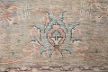 Antique Muted Distressed Tabriz Persian Area Rug 10x13 image 9