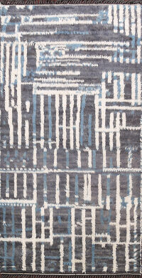 Abstract Moroccan Oriental Area Rug 6x9