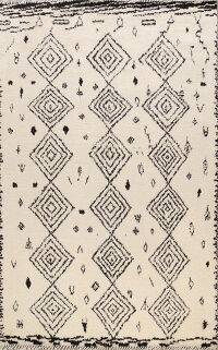 All-Over Moroccan Oriental Area Rug 8x10