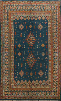 Tribal Indian Agra Oriental Area Rug 6x8