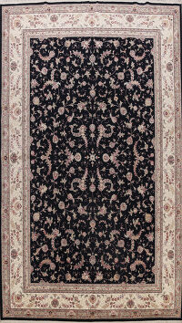 Wool & Silk Sino Persian Chinese Oriental Area Rug 10x14