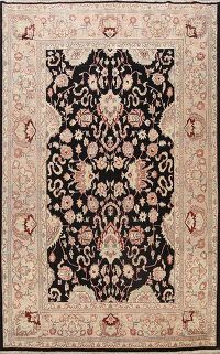 Floral Agra Oriental Area Rug 9x12