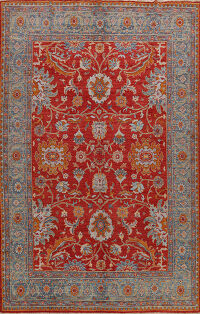 Floral Authentic Oushak Turkish Oriental Area Rug 9x10