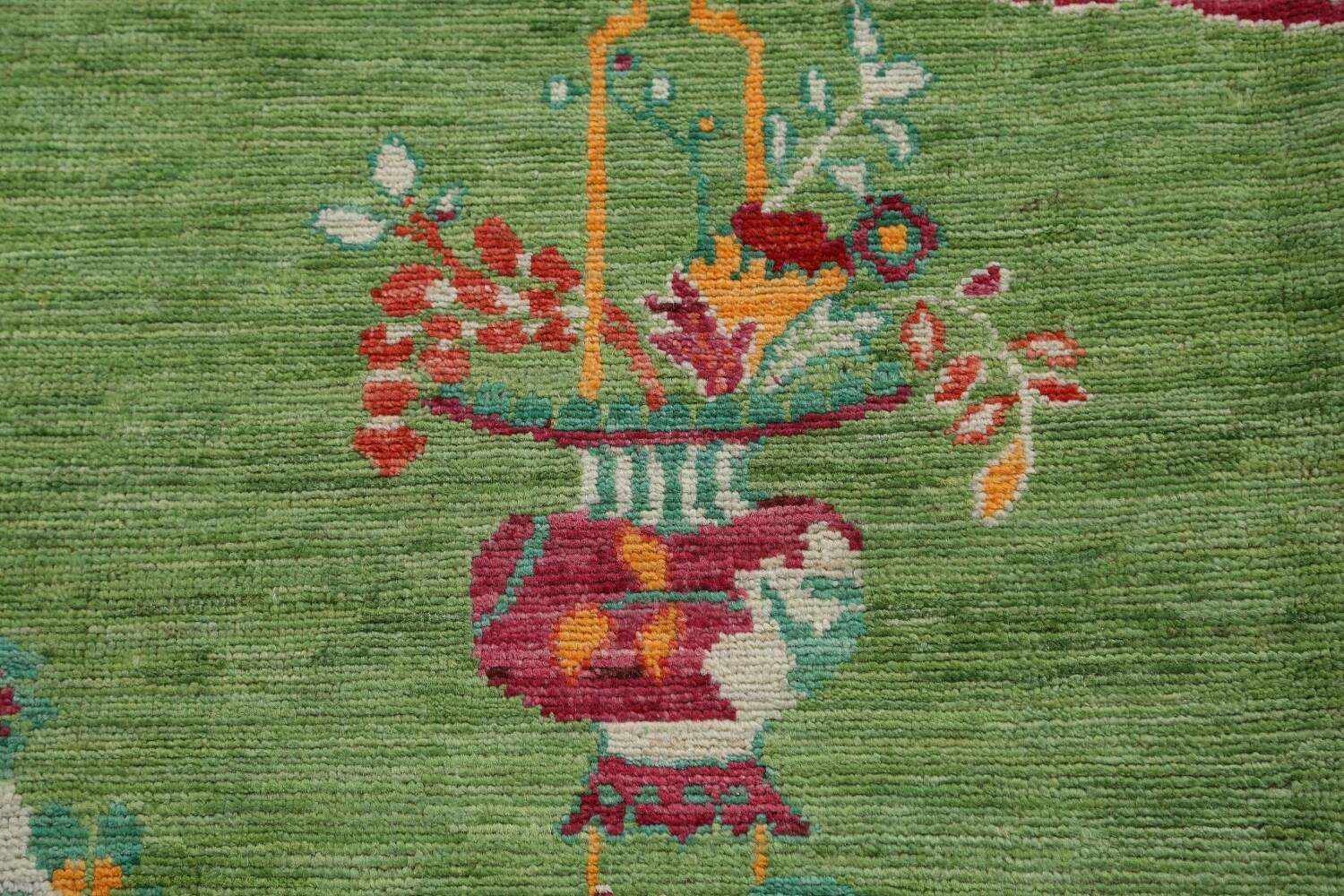 Pictorial Art Deco Chinese Oriental Area Rug 8x10 image 11