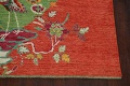 Pictorial Art Deco Chinese Oriental Area Rug 8x10 image 5