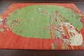 Pictorial Art Deco Chinese Oriental Area Rug 8x10 image 15