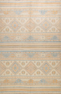 100% Vegetable Dye Khotan Oriental Area Rug 8x10