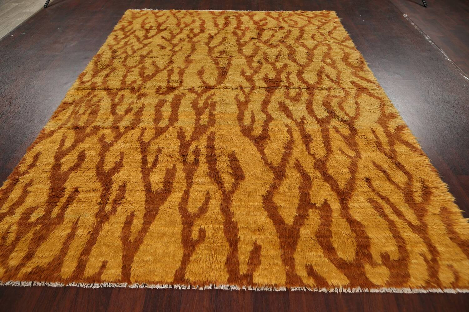 Abstract Moroccan Oriental Area Rug 7x9 image 12