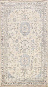 100% Vegetable Dye  Oushak Oriental Area Rug 6x9