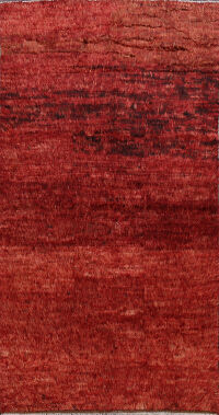 Red Moroccan Oriental Area Rug 6x10