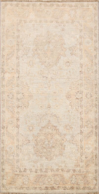 100% Vegetable Dye Oushak Turkish Oriental Area Rug 3x5