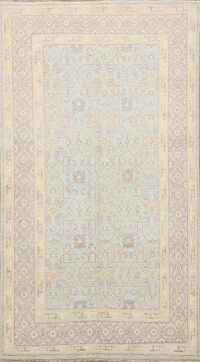 100% Vegetable Dye Oushak Oriental Area Rug 4x6