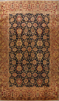 All-Over Floral Agra Oriental Area Rug 13x17 Large