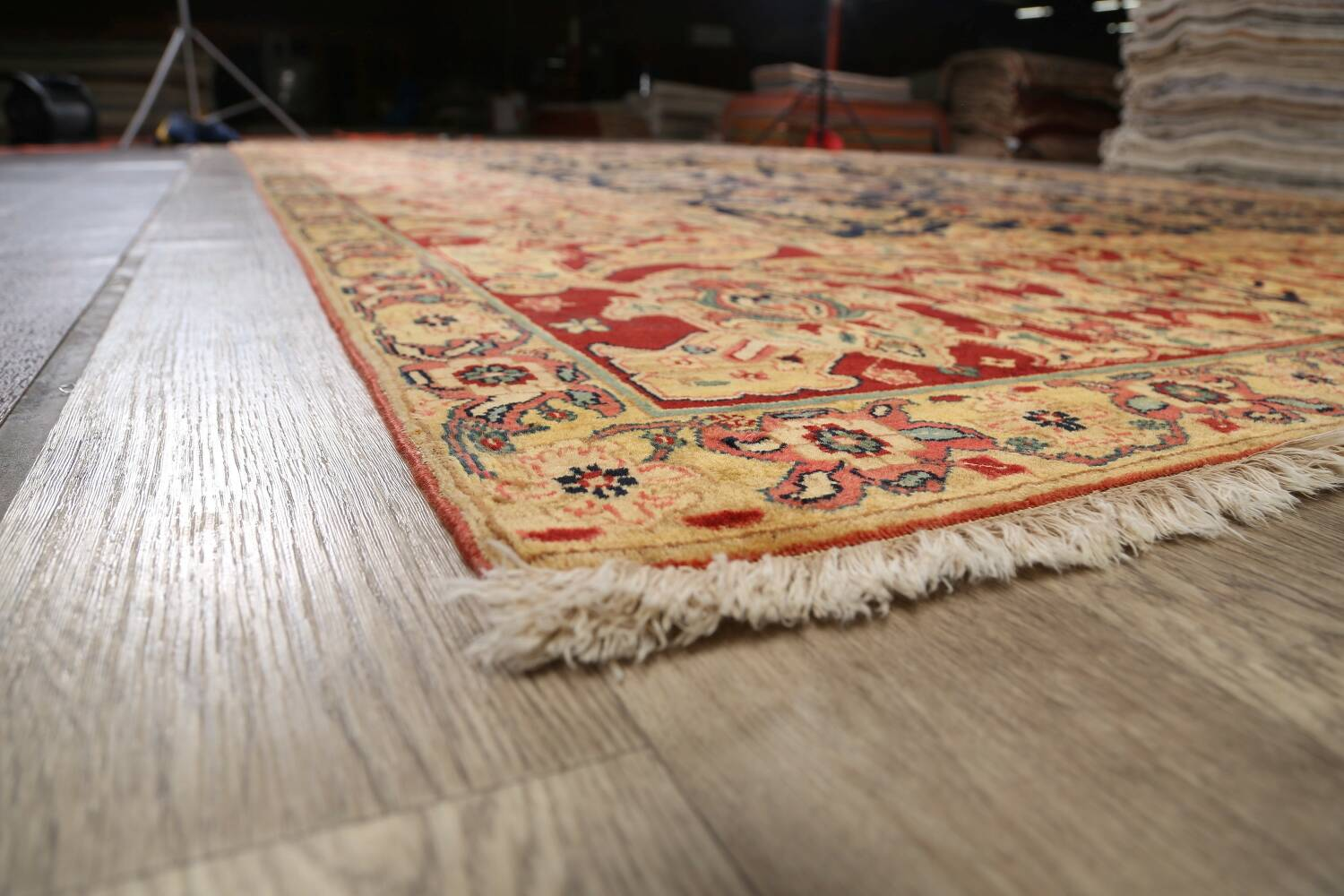 All-Over Floral Agra Oriental Area Rug 13x17 Large image 6
