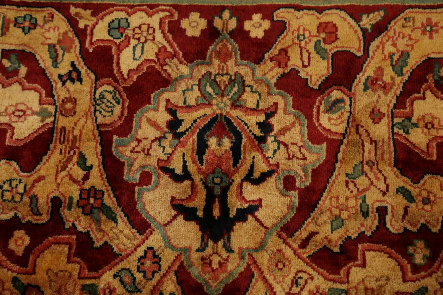 All-Over Floral Agra Oriental Area Rug 13x17 Large image 9
