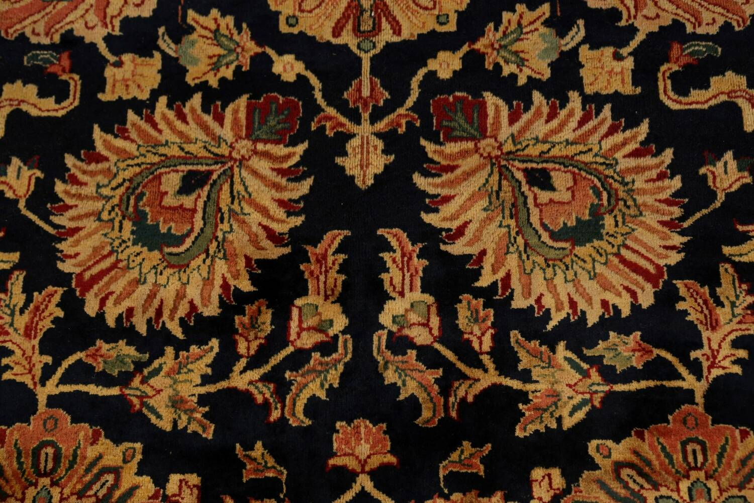 All-Over Floral Agra Oriental Area Rug 13x17 Large image 10