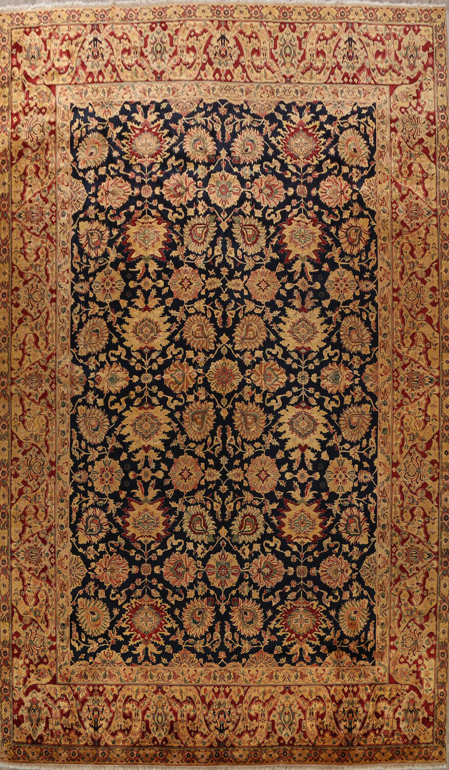 All-Over Floral Agra Oriental Area Rug 13x17 Large image 1