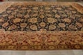 All-Over Floral Agra Oriental Area Rug 13x17 Large image 14