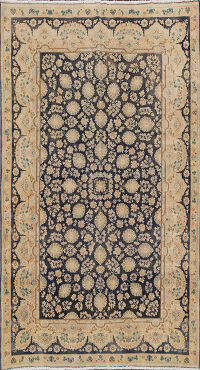 Floral Kerman Persian Area Rug 6x8