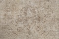 Muted Distressed Tabriz Persian Area Rug 10x13 image 10