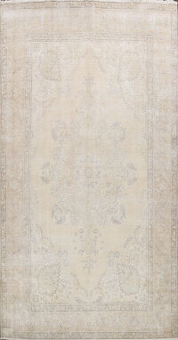 Muted Floral Tabriz Persian Area Rug 10x14