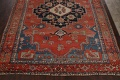 Pre-1900 Antique Heriz Serapi Vegetable Dye Persian Rug 12x16 image 8