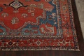 Pre-1900 Antique Heriz Serapi Vegetable Dye Persian Rug 12x16 image 5
