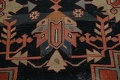 Pre-1900 Antique Heriz Serapi Vegetable Dye Persian Rug 12x16 image 12