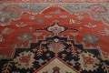 Pre-1900 Antique Heriz Serapi Vegetable Dye Persian Rug 12x16 image 19