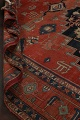 Pre-1900 Antique Heriz Serapi Vegetable Dye Persian Rug 12x16 image 24
