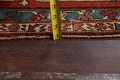 Pre-1900 Antique Heriz Serapi Vegetable Dye Persian Rug 12x16 image 26