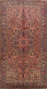Geometric Heriz Persian Area Rug 8x12