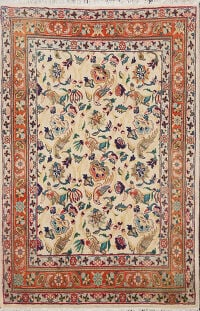 Animal Pictorial Bidjar Persian Area Rug 3x4
