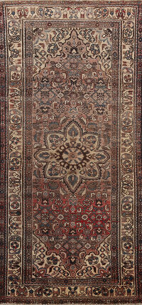 Tribal Malayer Persian Runner Rug 3x7