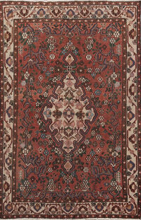 Antique Mahal Persian Area Rug 5x7