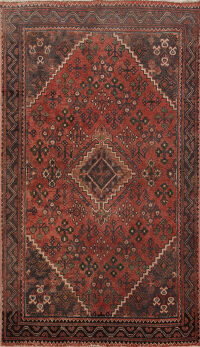 Antique Joshaghan Persian Area Rug 4x7