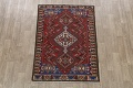 Antique Tribal Bakhtiari Persian Area Rug 5x6 image 2