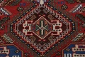 Antique Tribal Bakhtiari Persian Area Rug 5x6 image 10