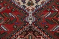 Antique Tribal Bakhtiari Persian Area Rug 5x6 image 11