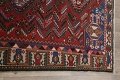 Antique Tribal Bakhtiari Persian Area Rug 5x6 image 15