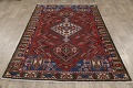 Antique Tribal Bakhtiari Persian Area Rug 5x6 image 17