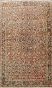 Pre-1900 Antique Tabriz Haj Jalili Persian Area Rug 10x14