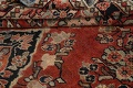 Antique Floral Mahal Persian Area Rug 4x7 image 16