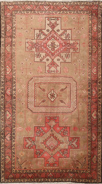 Tribal Bakhtiari Persian Area Rug 5x7