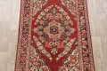 Antique Floral Mahal Persian Area Rug 4x7 image 3